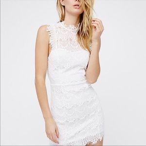 Free People Intimately white  lace dress